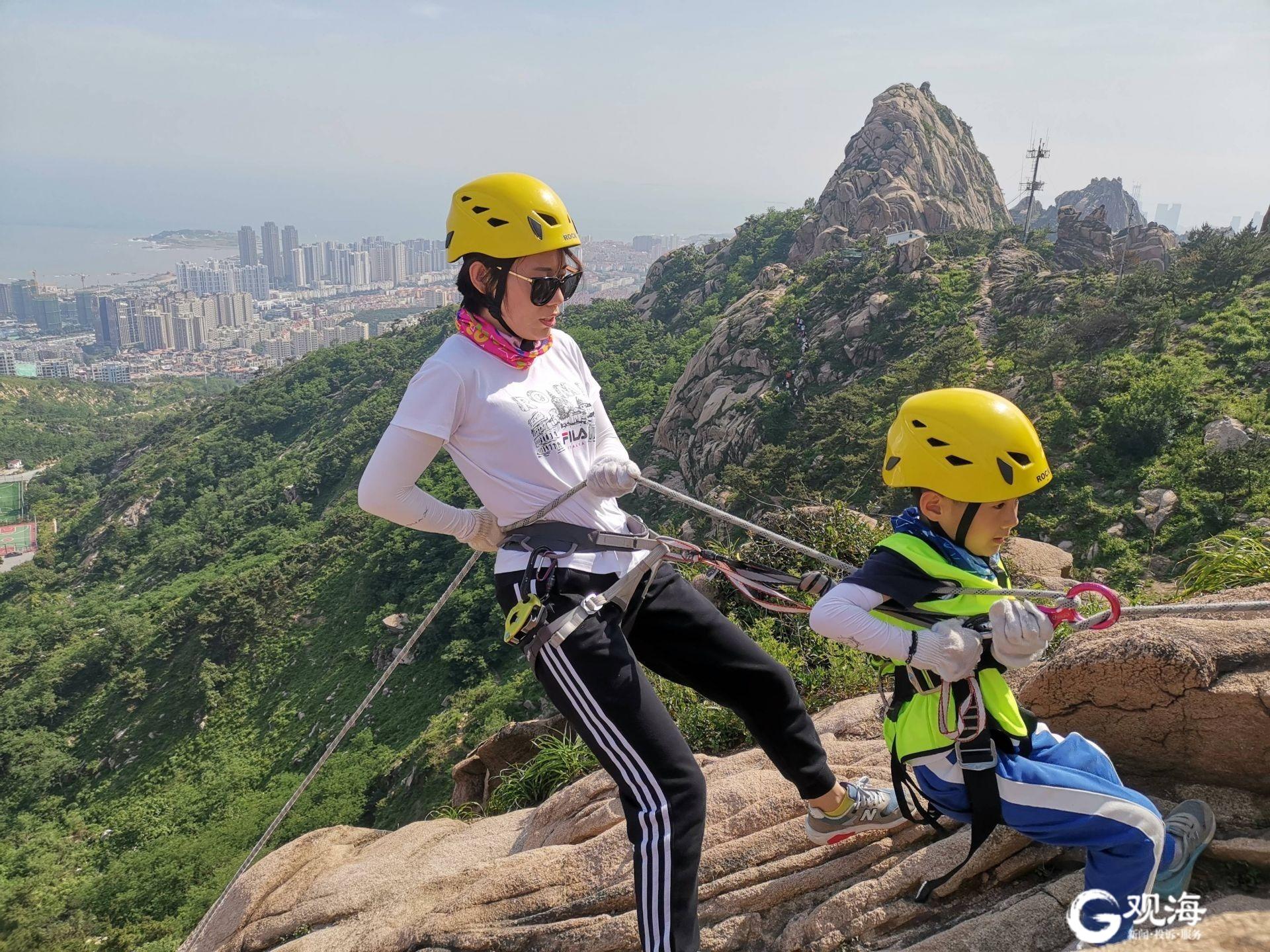 爬山、远足、攀岩受青岛人喜爱,节假日每天活动爆满