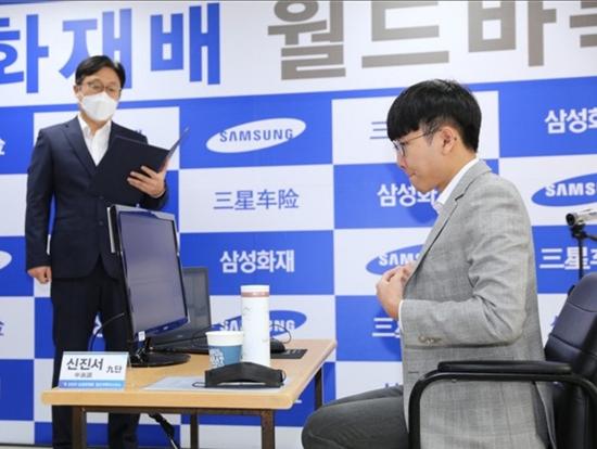 三星杯世界围棋大师赛第三轮 韩国申真谞孤身闯四强