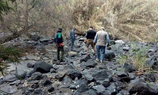 墨西哥天下搜刮委员会事情职员在萨尔瓦蒂拉镇(图片泉源:卫报)