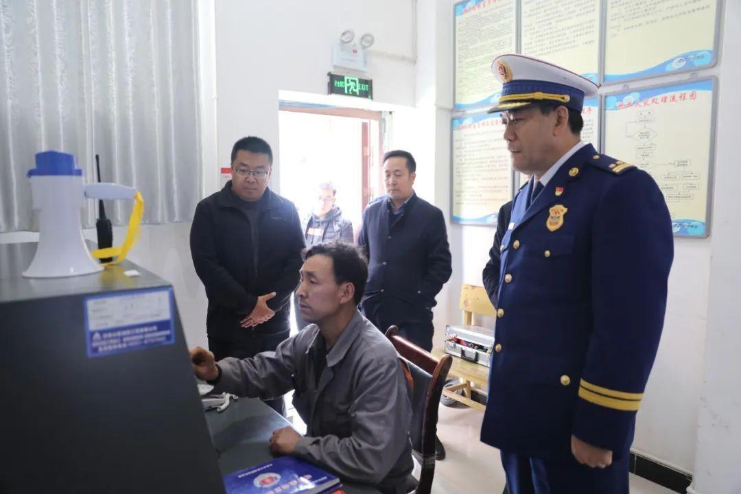 陇南市消防救援支队开展全市2020年为民办实事高层建筑消防安全治理项目核查工作