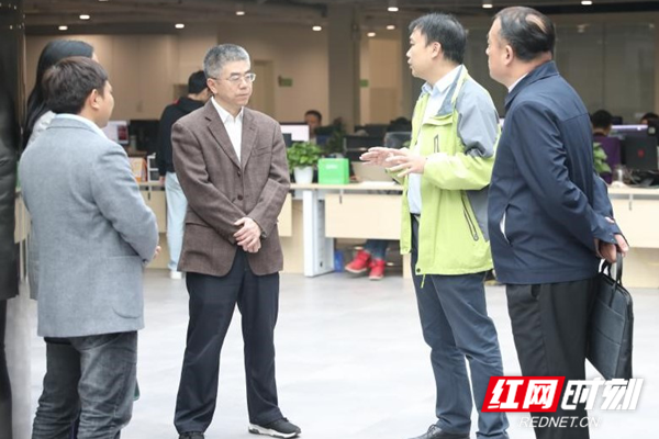 长沙市场监管局到惠农网调研 助力网络经营环境健康有序发展