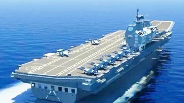 6.5万吨+核动力+电磁弹射 印度第三艘航母梦要落空?
