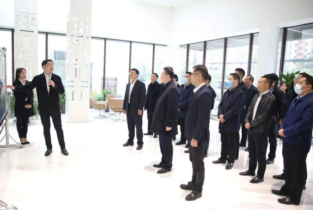 彭琳率乐山市党政代表团赴西安市渭南市学习考察