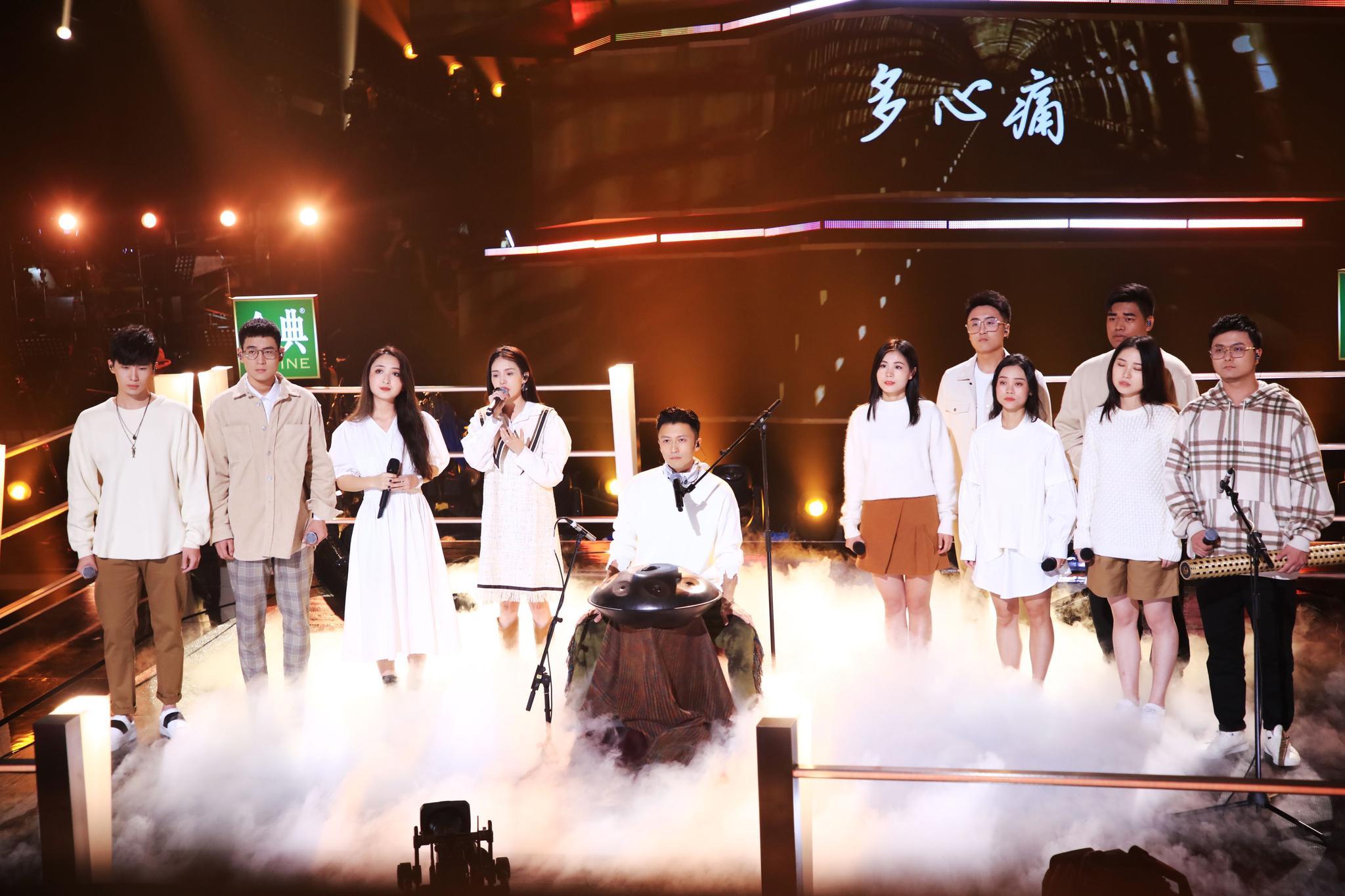 《2020中国好声音》九强诞生夜,谢霆锋《保重》致敬抗疫英雄图片