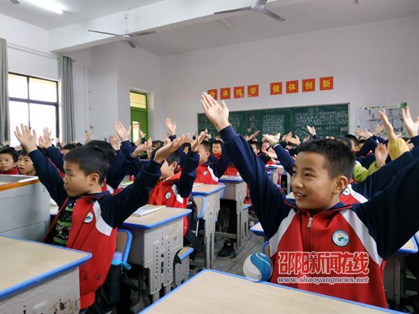 武冈市思源实验学校举行课前准备赛