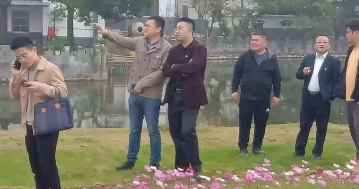 南京市派挂村第一书记赴固城街道观摩美丽乡村建设