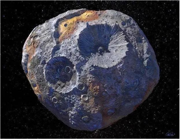 NASA已经盯上了:这颗小行星估价为世界经济总量1万倍!