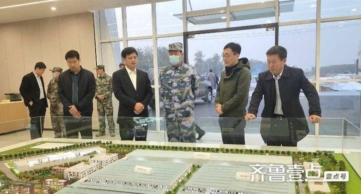 滨州市委常委、军分区司令员朱俊一行到博兴县曹王镇调研