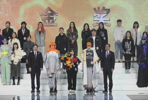 """广职院在2020中国大学生女装设计大赛夺唯一""""金奖"""""""