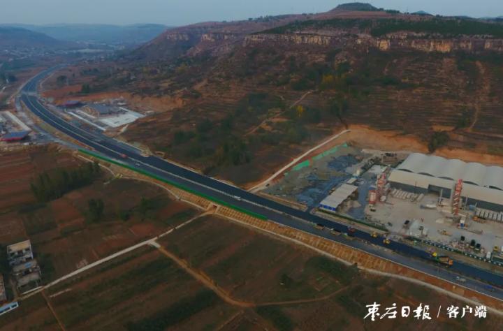 新台高速枣庄段最新进展!