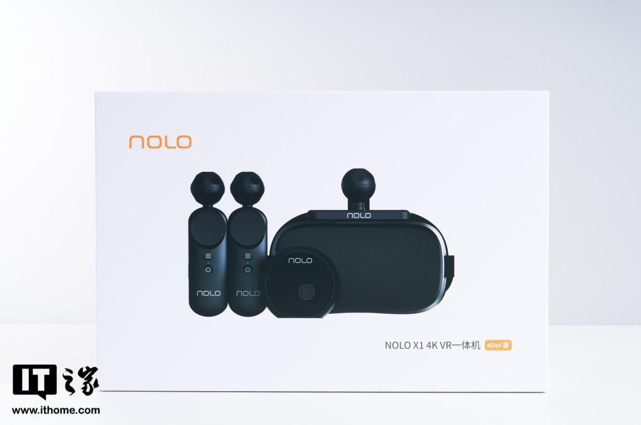 NOLO X1 4K VR 一体机体验:畅玩 SteamVR 游戏大作的性价比之选