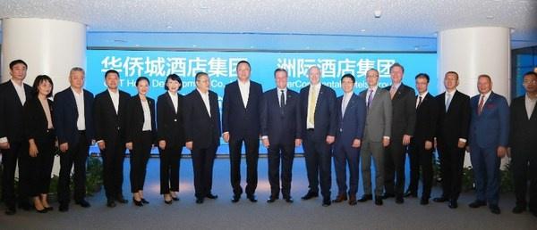 洲际酒店集团与华侨城酒店集团达成合作