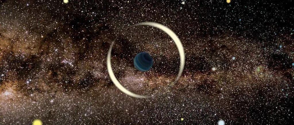 """天文学家发现一颗和地球相似的""""流浪行星"""""""