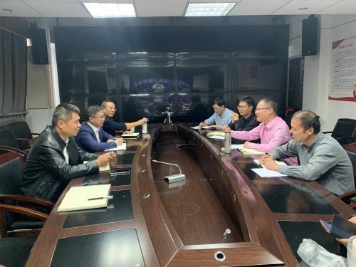 徐雄支队长赴乐清调研海洋与渔业执法工作