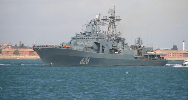 希腊不领情吗?美国国务卿刚访问完,俄罗斯军舰依然照常入港休整