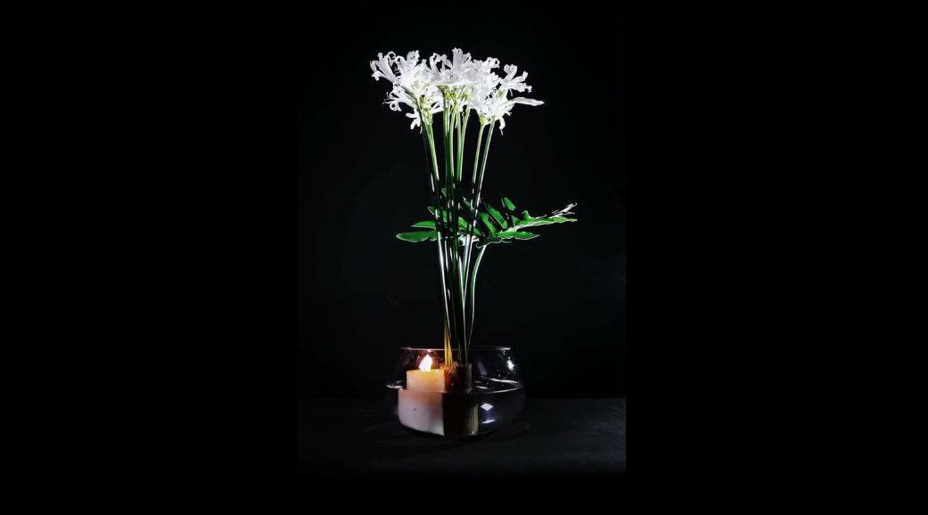 东方插花艺术,简单日常的插花固定技巧。 花客居家鲜花