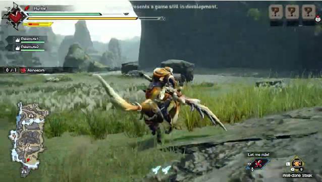 Switch《怪物猎人 崛起》大剑6分钟游戏演示映像