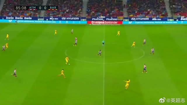 西甲最经典一战,苏亚雷斯助攻梅西绝杀比赛
