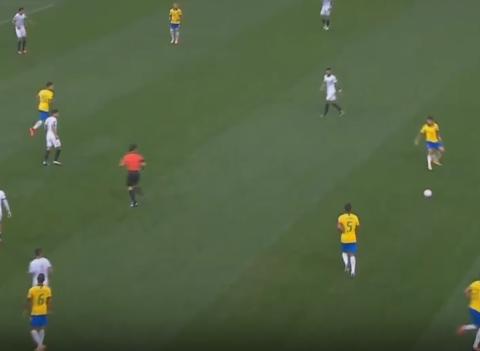 优势明显!巴西30分钟2-0领先,利物浦球星破门,内马尔首发