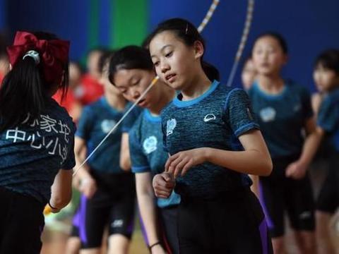 视点 北京市中小学生民族传统体育节跳绳比赛开赛