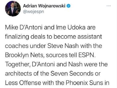 官宣:德安东尼正式加盟篮网