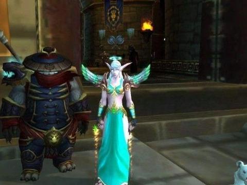魔兽世界:测试服真正的宠儿,她王者归来,法师拱手相迎