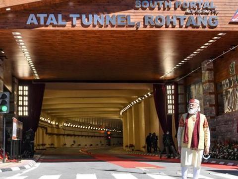印度建成首条高原隧道,自诩为全球第一,还想再建10条规模第一