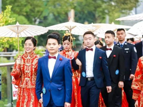 """""""我们结婚吧""""长安汽车集体婚礼50对""""后浪""""共筑爱巢"""