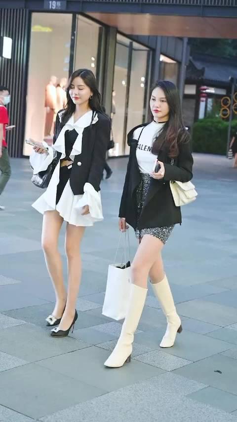高跟鞋小姐姐VS长靴小姐姐 你pick哪一位呢?