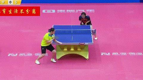 樊振东陈梦孙颖莎战例谈劈长,如何练习提高乒乓球接发球