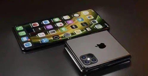 折叠屏iPhone渲染图曝光 神似三星Galaxy Z Flip