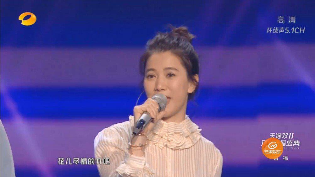 张智霖、袁咏仪《想把我唱给你听》现场版