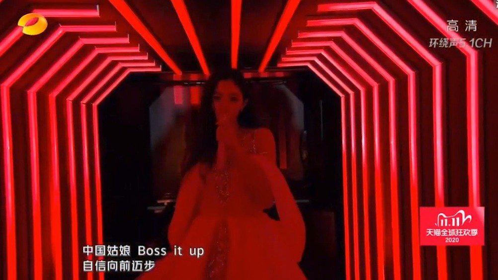 戚哥湖南卫视双十一盛典《佳人》舞台来了!