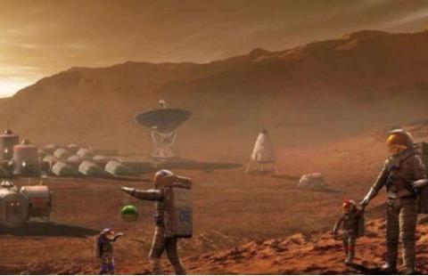又吹牛了?马斯克称飞船4年后飞往火星,为建造人类基地做准备