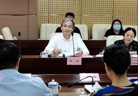 哈尔滨新区管委会到罗湖区调研规划和自然资源和企业服务工作