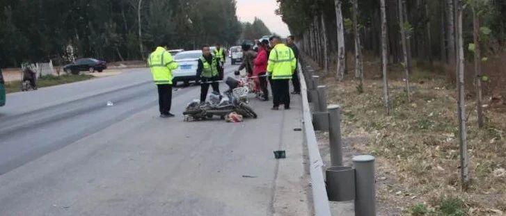 警惕!德州1天3起非机动车与机动车交通事故,3名骑乘人员死亡!