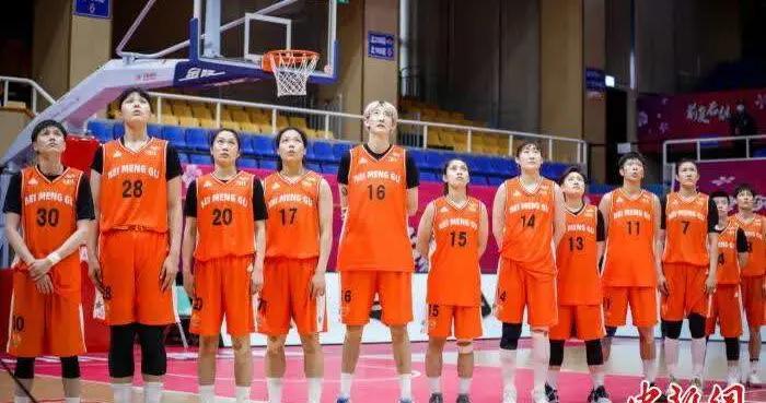 内蒙古农信女篮获WCBA联赛常规赛第一阶段全胜佳绩