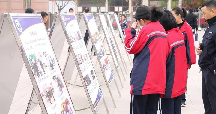 公安横山分局开展禁毒知识进校园宣传教育活动