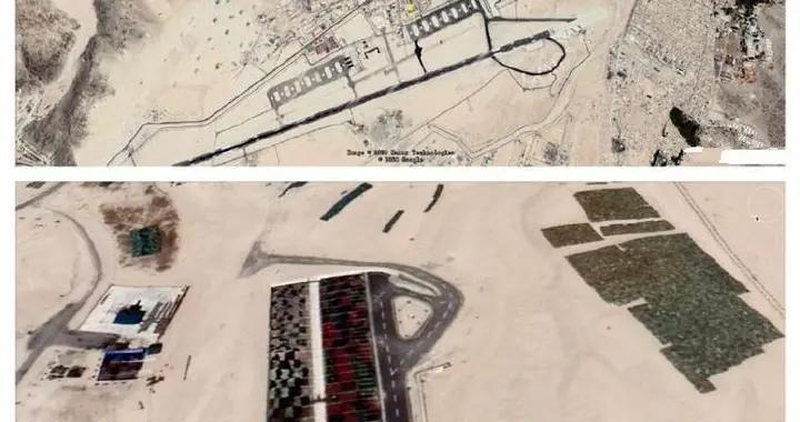 卫星照片发现拉达克印军,最大燃料储备库区:隐藏在一个山坳里