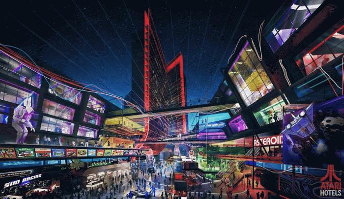 为游戏玩家量身打造,雅达利酒店 2022 年或登陆拉斯维加斯