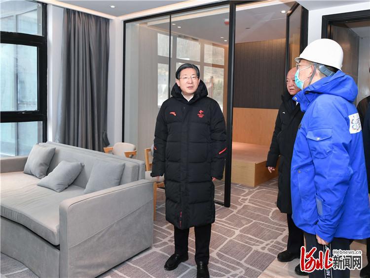 王东峰在张家口市崇礼区调研检查