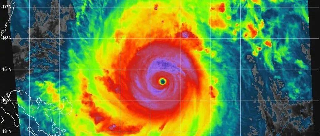 """超强台风""""天鹅""""11月2日""""飞""""入南海,海口不下雨的天气能持续多久?"""