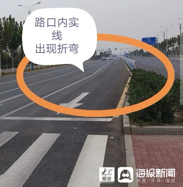 聊城市将对所有人行横道长度大于16m的道路设置安全岛