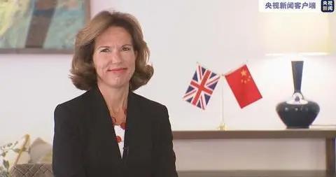 英国新任驻华大使吴若兰:全球经济息息相关 中英合作大有可为