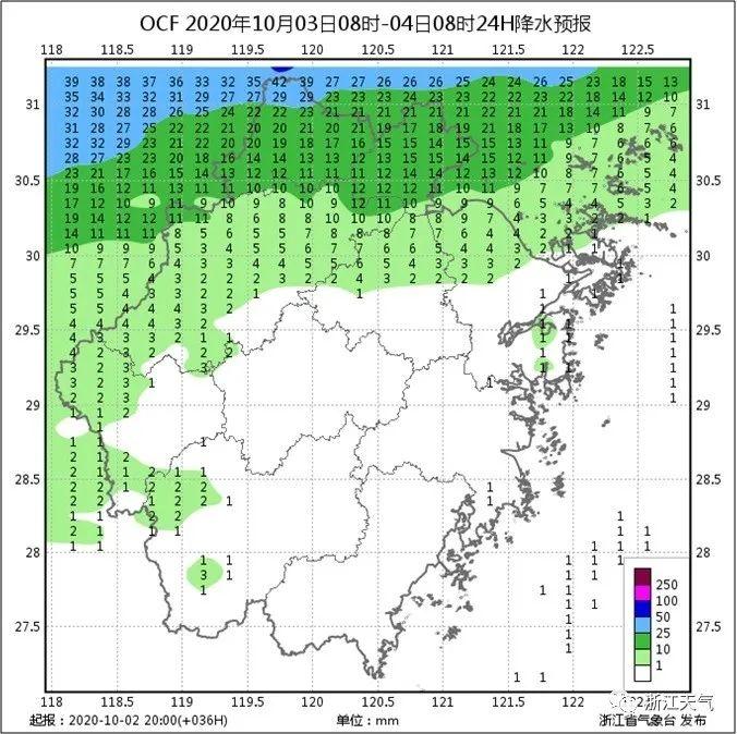 弱冷空气过境温州将迎来降雨降温 最低16.3℃