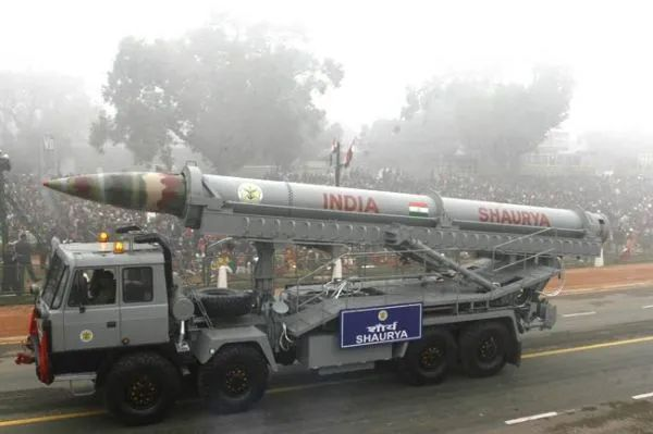 威慑中国?印度4天内试射3款新型导弹图片