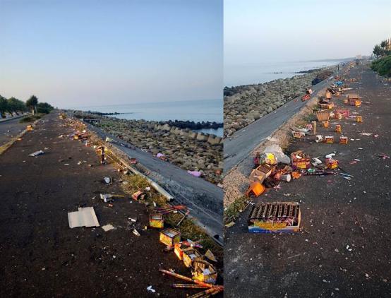 台湾超惨画面,这次没陆客背锅了……图片