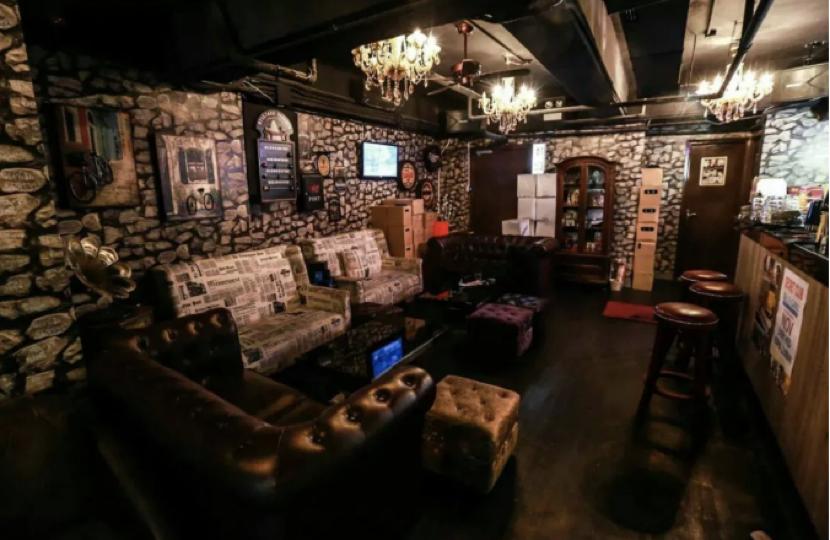 """China Secret酒吧,图源:""""橙新闻"""""""