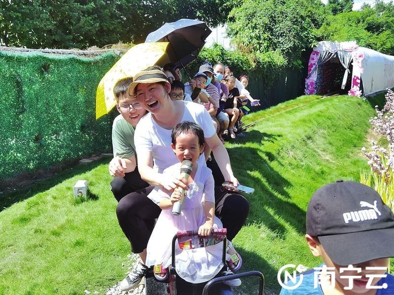 举家出游!南宁周边乡村游红红火火 游客量持续攀升