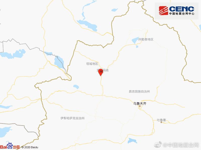 新疆克拉玛依市克拉玛依区发生3.1级地震图片
